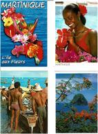 972 / MARTINIQUE / Lot De 45 Cartes Postales Modernes écrites - Cartes Postales