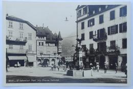 Cpsm St Sebastian Platz Mit Chavez Denkmal - TOR05 - VS Valais