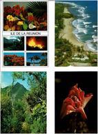 974 / REUNION  / Lot De 45 Cartes Postales Modernes écrites - Cartes Postales