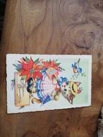 292/ Heureux Anniversaire Chat Oiseau - Birthday