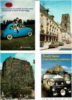 AUTOMOBILES / Lot De 90 Cartes Postales Modernes écrites - Cartes Postales