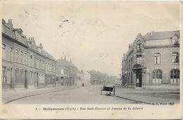 HELLEMMES LEZ LILLE Rue Sadi Carnot Et Avenue De La Liberté - Altri Comuni