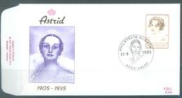 BELGIUM - 31.8.1985 - FDC - ASTRID - RODAN 765 AALST - COB 2183 - Lot 19597 - 1981-90