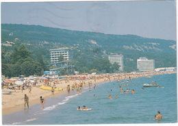 Varna - Golden Sands Hotel. The Beach - (Bulgarie) - Waterslide - Bulgarije