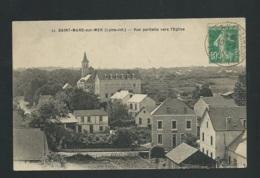 Saint Marc Sur Mer - Vue Partielle Vers L'église -   Mbg36 - France