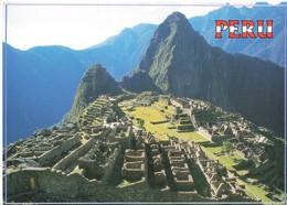 Perou Peru Machupicchu Vista Panoramica Cuzco Vue Panoramique + Timbre - Pérou