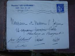 Pension Les Goelands Saint Jean De Luz Enveloppe Commerciale - 1900 – 1949