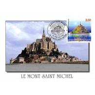 Carte Premier Jour - Le Mont Saint Michel, Manche - 6/6/1998 - 1990-99
