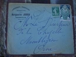 Doudeville Marguerite Jobbin Chaussure Parapluie Enveloppe Commerciale - France