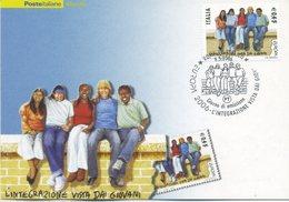 ITALIA - FDC MAXIMUM CARD 2006 - EUROPA - IL VALORE DA 0.45 - ANNULLO SPECIALE - Cartoline Maximum