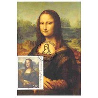 Carte Postale - Léonard De Vinci, La Joconde - 29/03/1999 Paris - 1990-99