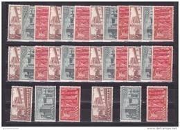 España Nº 1250 Al 1252 - 10 Series - 1951-60 Nuevos & Fijasellos