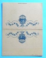 Nicaragua STATIONERY Post Card 3+3 CENTAVOS Mint - Nicaragua