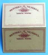 Nicaragua STATIONERY Post Card 2 + 2 CENTAVOS Mint - Nicaragua