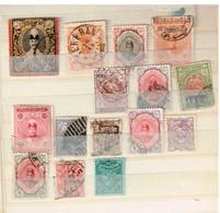 Lot Perse Anciens Timbres à Identifier - Briefmarken