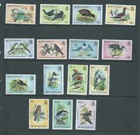 Montserrat 1984 Bird Definitive Set 15 Specimen Overprints MNH - Montserrat