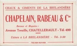 BUVRD - CHATELLERAULT - CHAPELAIN RABEAU - CIMENTS DE LA BRELANDIERE - Unclassified