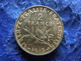 FRANCE 2 FRANCS 1915, KM845.1 - I. 2 Francs