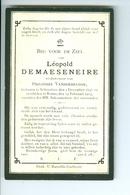 DP De Maeseneire Léopold, Wednaar Philothée Vanderbrugge, Ronse 1907 - Images Religieuses