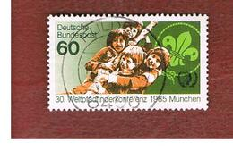 GERMANIA (GERMANY) - SG 2102 - 1985 WORLD SCOUTS CONFERENCE  -   USED - [7] République Fédérale