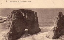 LIBAN  BEYROUTH  La Grotte Aux Pigeons - Lebanon