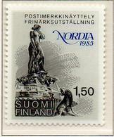 """PIA - FINLANDIA  - 1985 : """"NORDIA 1985"""" Esposizione Filatelica - (Yv 923) - Nuovi"""