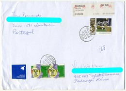 Portugal 2015 Circulated Cover - Minerals Crystals Chalcopyrite - Minerals