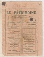 9/2 BUVARD LE PATRIMOINE  ASSURANCES TRES USAGE - Banque & Assurance