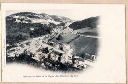 X39121 Edition Libraire Ch. PAGET - MOREZ-LE-BAS Jura Et La Ligne Du Chemin De Fer Pionnière 1890s Etat PARFAIT - Morez