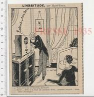 Humour Ancien Récepteur Radio TSF Opéra Lakmé (Léo Delibe) Auscultation Médecine Tableau Chat Baryton Bronchite CHV10 - Ohne Zuordnung