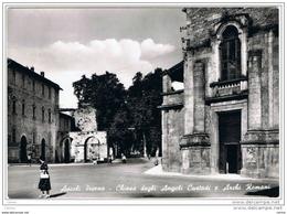 ASCOLI  PICENO:  CHIESA  DEGLI  ANGELI  CUSTODI  E  ARCHI  ROMANI  -  FOTO  -  FG - Chiese E Conventi