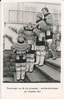 Greenland Postcard Send To Denmark Godthab 22-1-1952 Good Franked (Queen Ingrid And The 3 Princesses At Grasten Slot In - Greenland