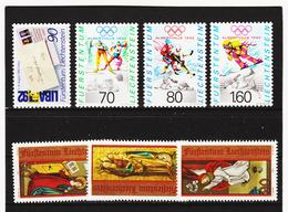 TNT342 LIECHTENSTEIN 1991 Michl 1026/32 ** Postfrisch SIEHE ABBILDUNG - Liechtenstein