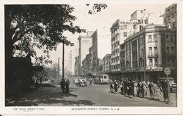 Australia Postcard Sent To Denmark (Elizabeth Street Sydney N.S.W.) - Sydney