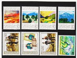 TNT343 LIECHTENSTEIN 1991 Michl 1016/23 ** Postfrisch SIEHE ABBILDUNG - Liechtenstein