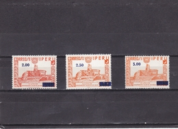 Peru Nº A402 Al A404 - Peru