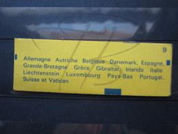 VEND BEAU CARNET DE TIMBRES DE FRANCE N° 1505 , VIRGULES ABSENTES !!! - Booklets
