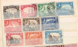 Lot Aden Anciens Timbres à Identifier - Briefmarken