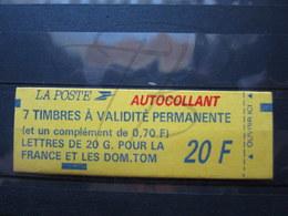 VEND BEAU CARNET DE TIMBRES DE FRANCE N° 1503a , PAPIER FLUORESCENT !!! - Booklets