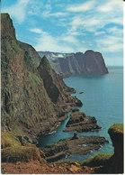Faroe Islands Postcard Sent To Denmark Famjin Pr. Tvoroyri 24-7-1979 (Westcoast Of Suduroy) - Faroe Islands