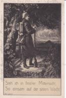 Germany Postcard With Soldier Posted Braunschweig 16.11.1916 (DD4-57) - Uniformen