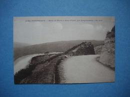 MOREZ -  39  -  Route De Morez à St Claude Par Longchaumois  -   Jura - Morez