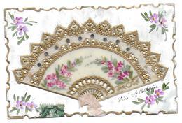 CPA FANTAISIE EVENTAIL - Fancy Cards