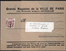 Bande Journal Affranchie Par 1 Timbre Préoblitéré Envoyée De Gand Vers Saint Denis Westrem En 1903 - Precancels