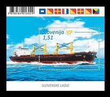 Slovenia 2019 Mih. 1369 (Bl.116) Ship Portoroz MNH ** - Slovenia