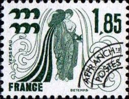 France Préo N* Yv:149 Mi:2021 Signe Du Zodiaque Verseau (avec Charnière) - 1964-1988