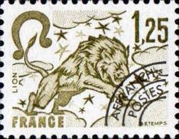 France Préo N** Yv:156 Mi:2114 Signe Du Zodiaque Lion - 1964-1988