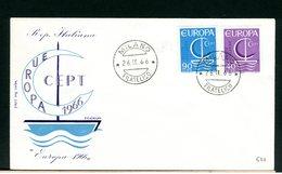 ITALIA - FDC - 1966 -  EUROPA - 6. 1946-.. Repubblica