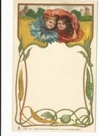 CPA - ART NOUVEAU -ENFANTS EN FLEUR - TUCK SERIE 294 - NON  ECRITE - TBE - Künstlerkarten
