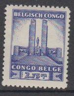 Belgisch Congo 1941 Monument Koning Albert I Te Leopoldstad 2,75Fr  1w ** Mnh (42934C) - 1923-44: Ongebruikt